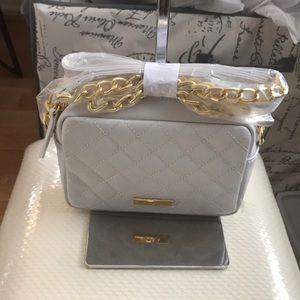 Iman Platinum Collection Quilted Luxury Habdbag